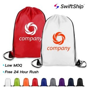 Polyester Drawstring Sports Backpack